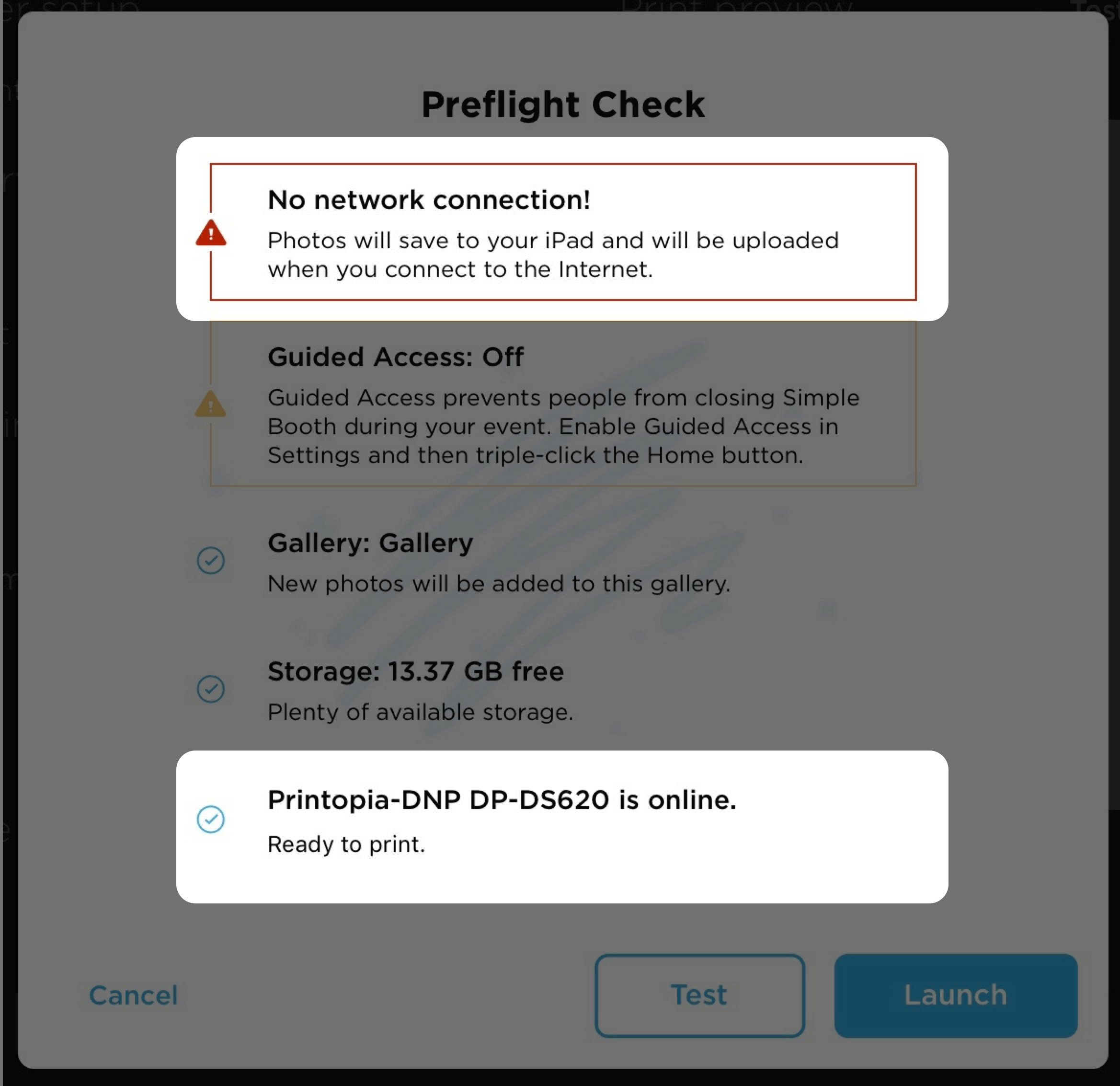 Preflight Check