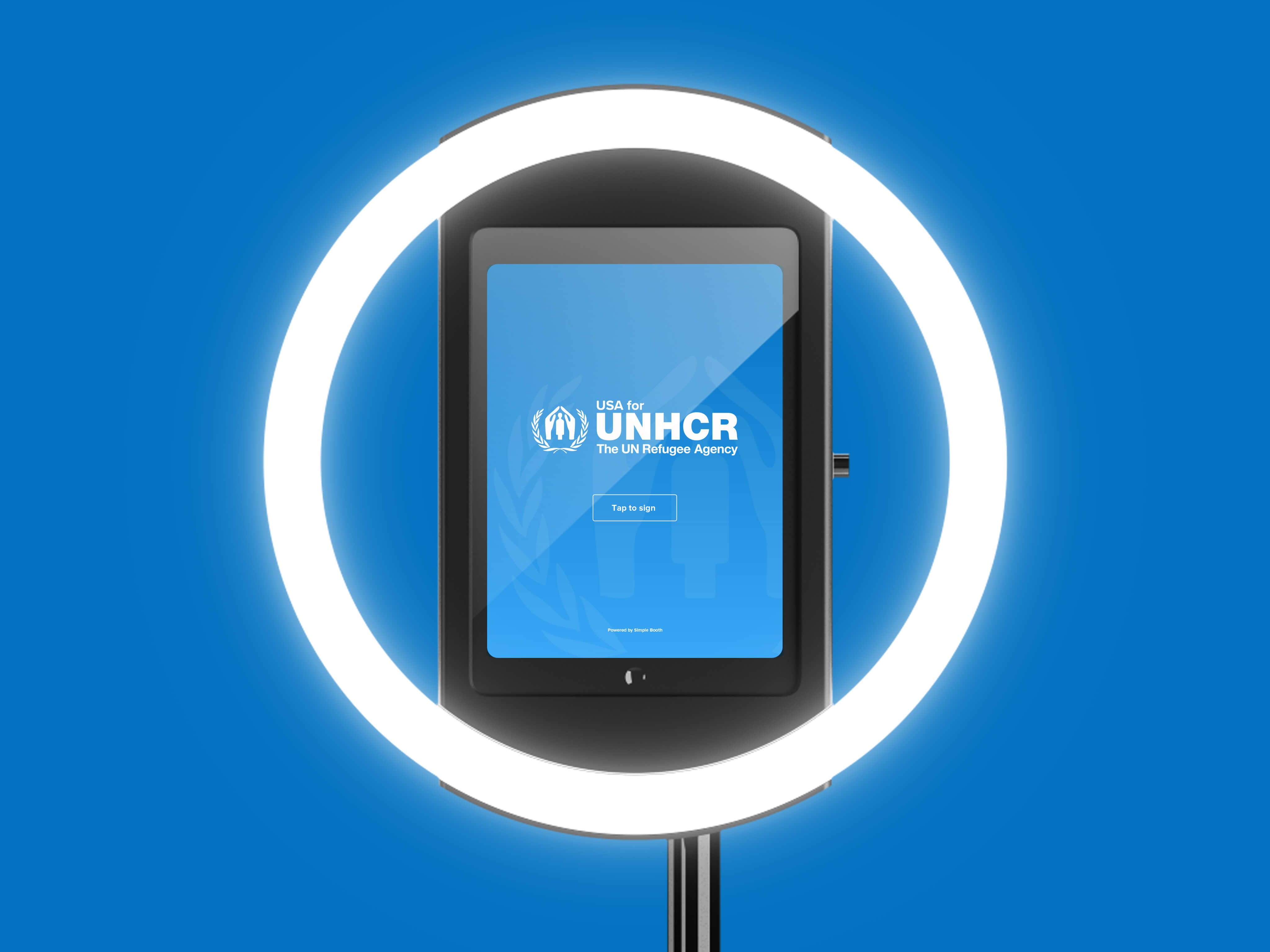 UN Refugee Agency HALO setup