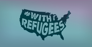#withrefugees