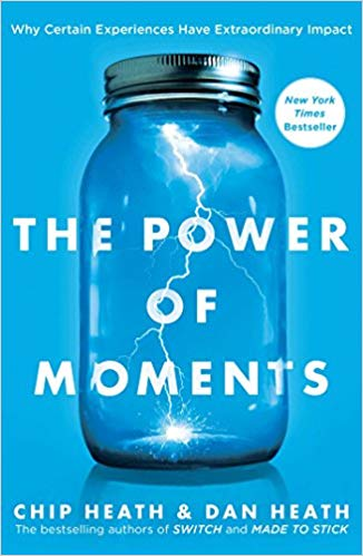 power of moments marketing book cover