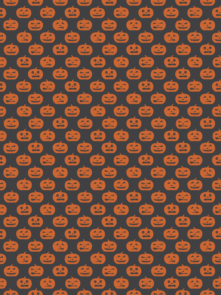 Pumpkin patter for halloween photo booth backdrop