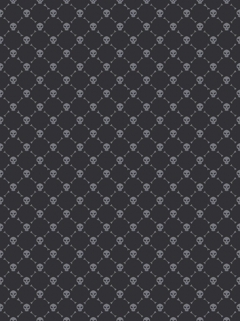 skull and crossbone patter for halloween photo booth background