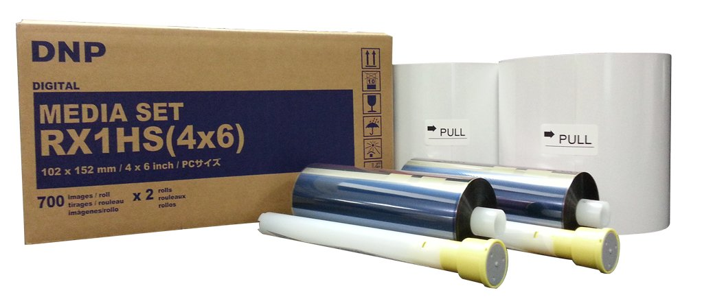 dye sub photo booth printer paper rolls