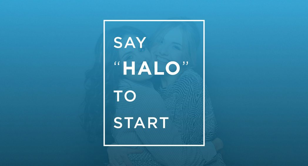Say HALO to Start Screen
