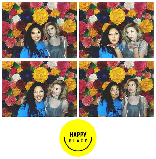 Happy Place photobooth